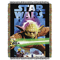 Star Wars™ Powerful Ally Woven Tapestry Throw Blanket