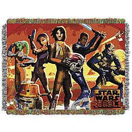 Star Wars™ Red Hot Rebels Woven Tapestry Throw Blanket