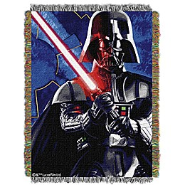 Star Wars™ Sith Lord Woven Tapestry Throw Blanket