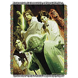 Star Wars™ Small Rebel Force Woven Tapestry Throw Blanket