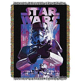 Star Wars™ Storm Ahead Woven Tapestry Throw Blanket