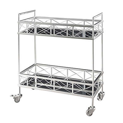 Abbyson Living Kanda 2-Tier Bar Cart