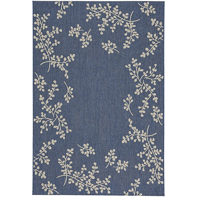 Alternate image 1 for Capel Rugs Biltmore Elsinore Winterberry 7-Foot 10-Inch x 11-Foot Area Rug in Blue