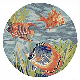 Liora Manne Tropical Fish Ocean Indoor/Outdoor Area Rug