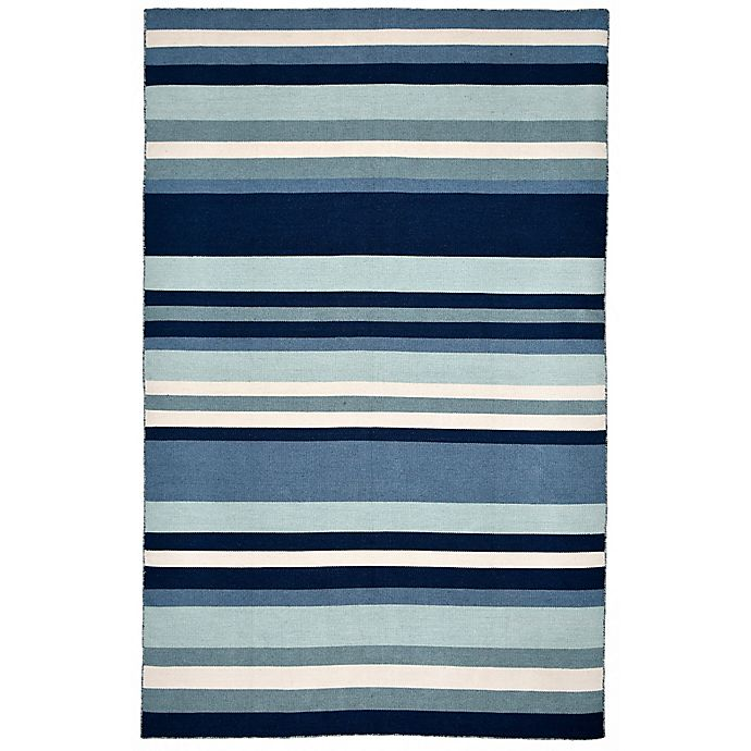 Alternate image 1 for Liora Manne Tribeca Water 5-Foot x 7-Foot 6-Inch Area Rug in Blue