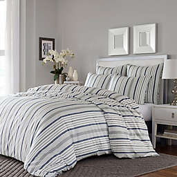 Stone Cottage Conrad 3-Piece Full/Queen Duvet Cover Set in Grey