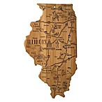 Totally Bamboo® Illinois Destination Cutting Board