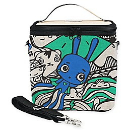 SoYoung Pixopop Flying Stich Bunny Large Cooler Bag in Blue