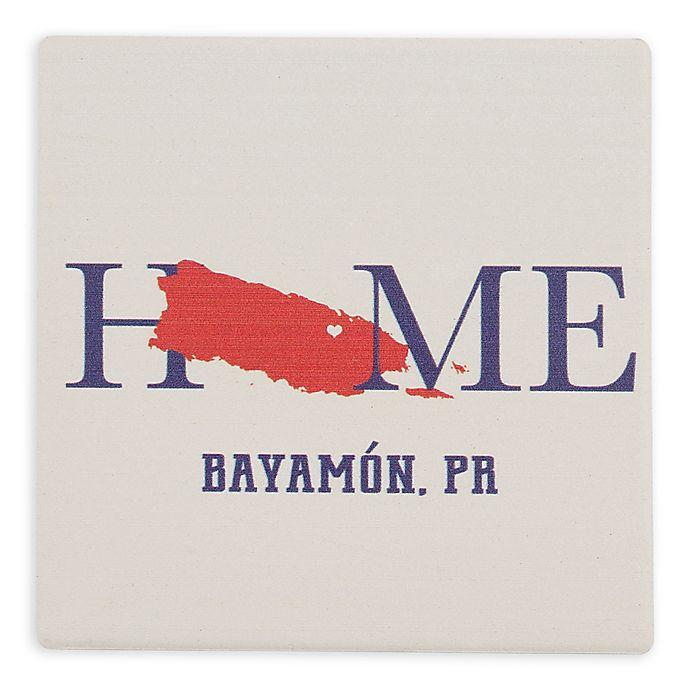 Alternate image 1 for Thirstystone® Dolomite Bayamon, PR Home Square Single Coaster