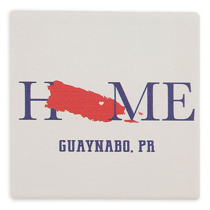 Alternate image 1 for Thirstystone® Dolomite Guaynabo, PR Home Square Single Coaster