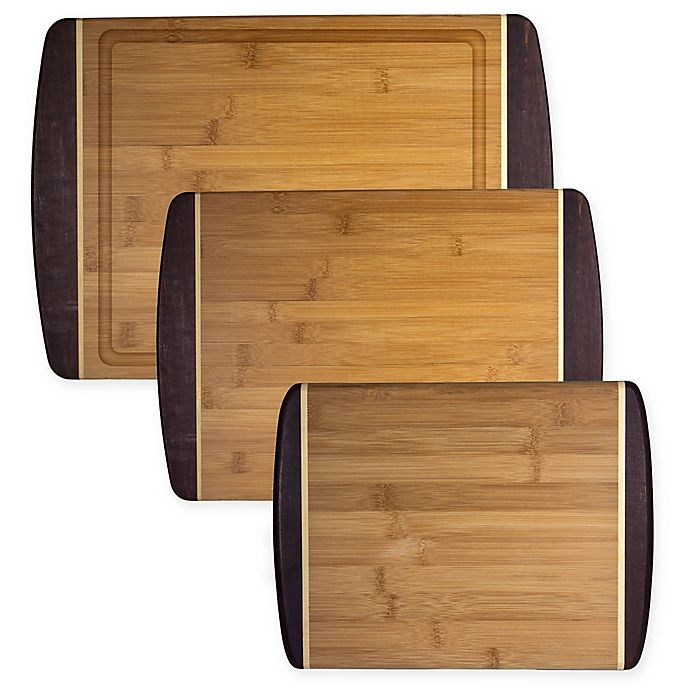 Alternate image 1 for Totally Bamboo® Java Cutting/Serving Board