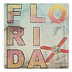 Thirstystone® Florida Landmarks Single Square Coaster