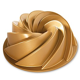 Nordic Ware® Heritage Premier Gold 10-Cup Bundt Pan in Gold