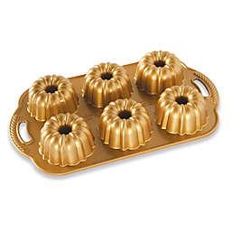Nordic Ware® Anniversary Premier Gold 4.5-Cup Bundt Pan in Gold