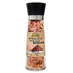 Himalayan Chef® Himalayan Pink Salt & Chipotle in Refillable Glass Grinder
