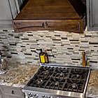 Alternate image 2 for ZLINE Designer Series 321RR Wooden Wall Range Hood with Brown Molding