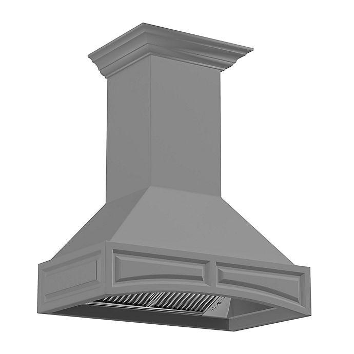 Alternate image 1 for ZLINE Designer Series 321UU 36-Inch Wooden Wall Range Hood