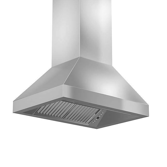 Alternate image 1 for ZLINE Outdoor Series 597i-304 36-Inch Stainless Steel Island Range Hood