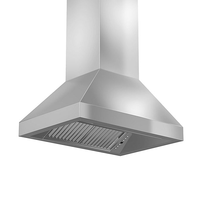 Alternate image 1 for ZLINE Remote Series 597i-RS 48-Inch Stainless Steel Island Range Hood