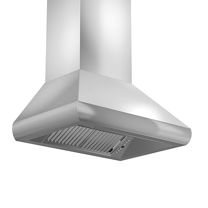 Alternate image 1 for ZLINE Outdoor Series 687-304 48-Inch Stainless Steel Wall Range Hood