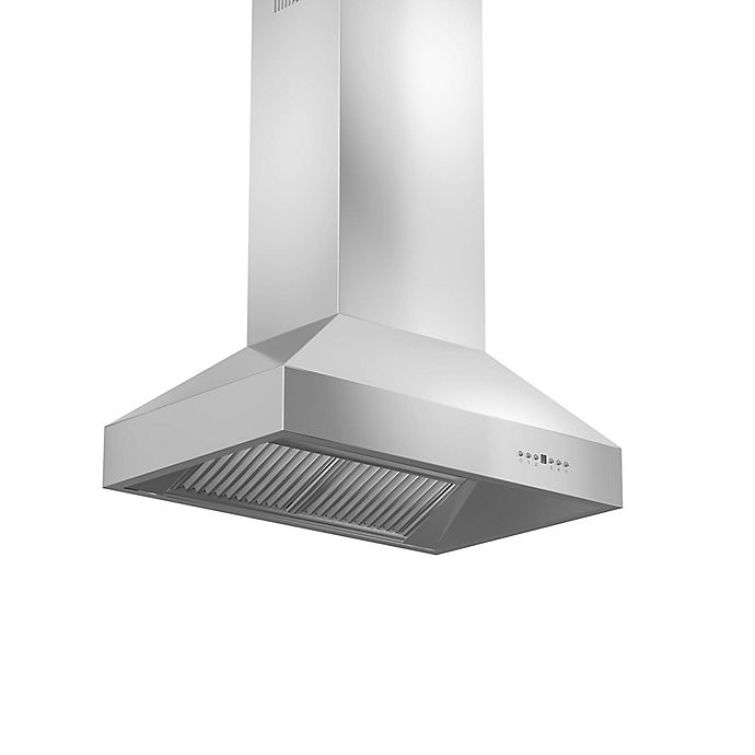 Alternate image 1 for ZLINE Outdoor Series 697i-304 36-Inch Island Range Hood in Stainless Steel