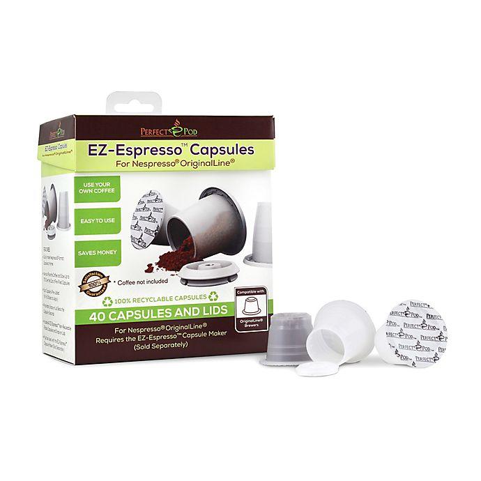 Alternate image 1 for Perfect Pod EZ-Espresso 40-Count Fillable Espresso Capsules