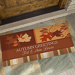 Happy Autumn 25-Inch x 48-Inch Door Mat