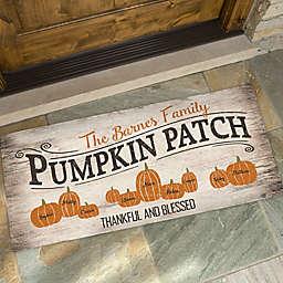 Pumpkin Patch Door Mat