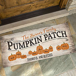 Pumpkin Patch Door Mat