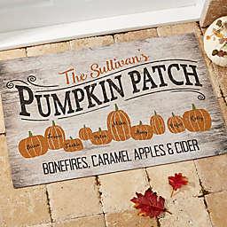Pumpkin Patch18-Inch x 27-Inch  Door Mat