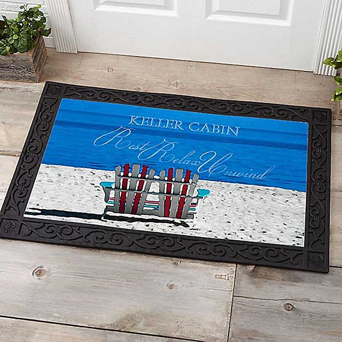 Alternate image 1 for Rest, Relax, and Unwind 20-Inch x 35-Inch Door Mat