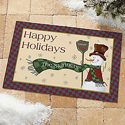 Let It Snow Doormat Collection