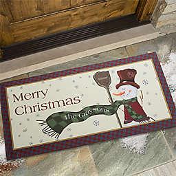 Let It Snow Snowman 24-Inch x 48-Inch Door Mat