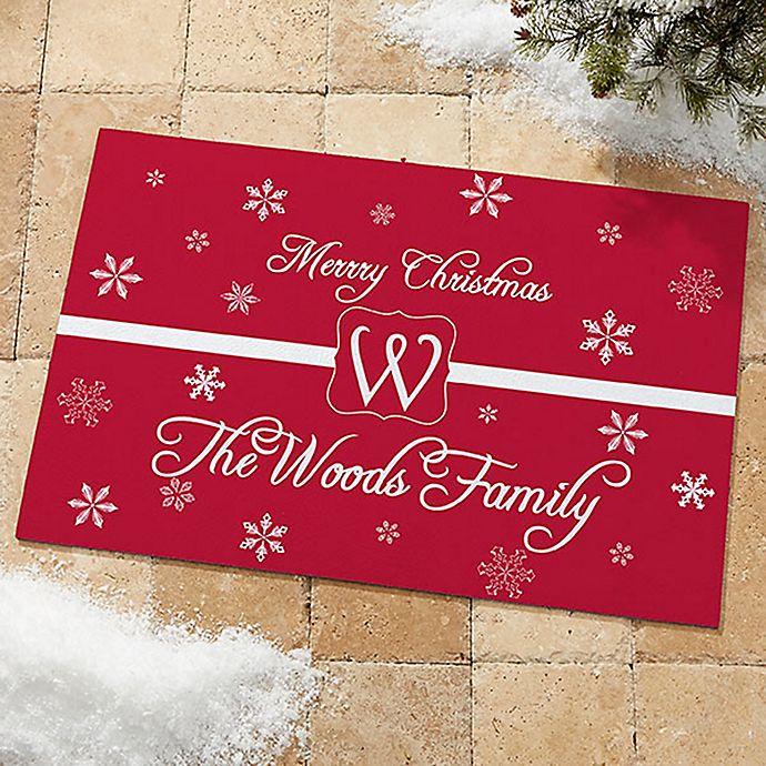 Alternate image 1 for Winter Wonderland 18-Inch x 27-Inch Door Mat