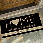 Home With You 24-Inch x 48-Inch Door Mat