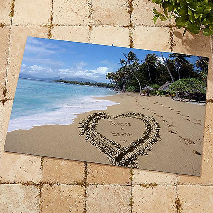 Alternate image 1 for Our Paradise Island Door Mat
