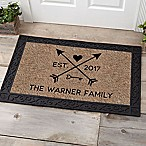 Arrows of Love 20-Inch x 35-Inch Door Mat