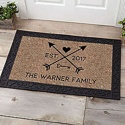 Arrows of Love Door Mat