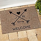 Arrows of Love 18-Inch x 27-Inch Door Mat