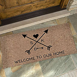 Arrows of Love 24-Inch x 48-Inch Door Mat