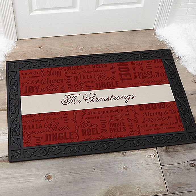 Winter Melody Door Mat Bed Bath And Beyond Canada