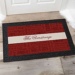 Winter Melody Door Mat