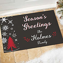 Wintertime Wishes Door Mat