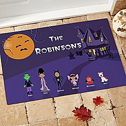 Halloween Character Door Mat