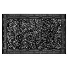 "Clean Machine Omega 24"" x 36"" Door Mat in Black"