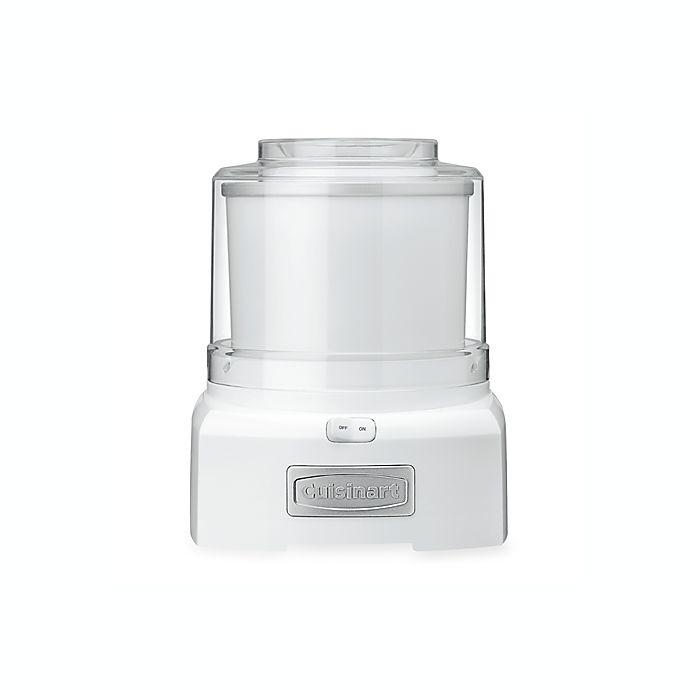 Alternate image 1 for Cuisinart® Ice Cream/Frozen Yogurt Maker in White