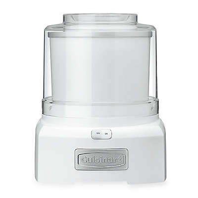 Cuisinart® Ice Cream/Frozen Yogurt Maker in White