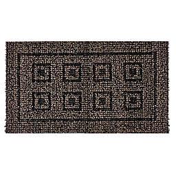 Clean Machine® Eight Panel 20-Inch x 36-Inch Door Mat in Black Forest