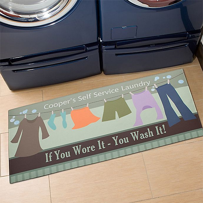 Alternate image 1 for Laundry Time 24-Inch x 48-Inch Door Mat
