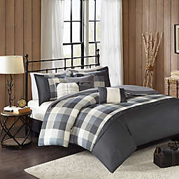 Madison Park Ridge Herringbone Duvet Cover Set